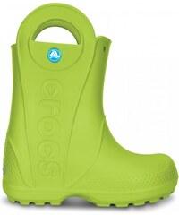 Crocs Handle It Rain Boot Kids Volt Green