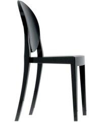 Židle Victoria Ghost od KARTELL (černá)