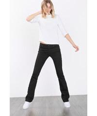 Esprit Sytě černé, úzké strečové džíny