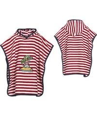 Dětské froté pončo námořník Playshoes