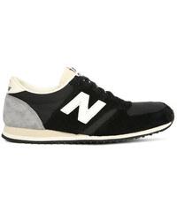NEW BALANCE Sneaker 420 aus schwarzem Veloursleder