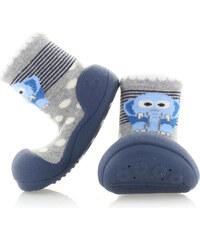 Détské tmavě modré boty Attipas Zoo