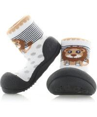 Dětské černé boty Attipas Zoo