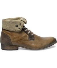 Eram boots cuir marron clair