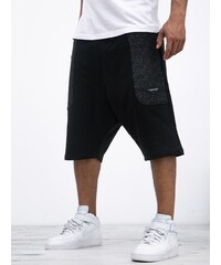 Cayler & Sons Presidential Low Crotch Sweat Shorts Marauder Black