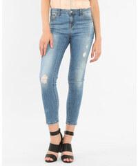 Jean skinny zippé bleu denim, Femme, Taille 32 -PIMKIE- MODE FEMME