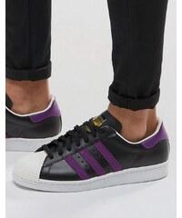 Adidas Originals - Superstar 80's BB3718 - Baskets - Noir - Noir