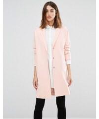 Vero Moda - Manteau long ample - Rose