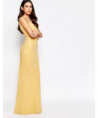VLabel London VLabel - River - Anschmiegsames Maxikleid - Gold