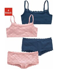 s.Oliver RED LABEL Bodywear Bustiers + Pantys (Set 4-tlg.)