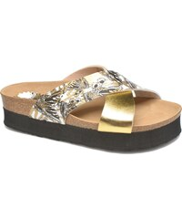 Desigual - SHOES_BIO 10 MEGARA 3 - Clogs & Pantoletten für Damen / gold/bronze