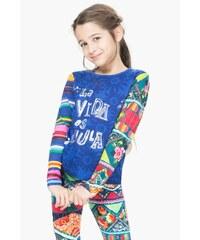 Desigual barevné dívčí tričko Iowa