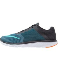 Nike Performance FS LITE RUN 3 Laufschuh Wettkampf midnight turquoise/clear jade/black/white/total orange