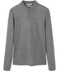 Mango WILLY Poloshirt medium heather grey