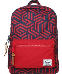 Herschel SETTLEMENT Tagesrucksack navy metric/red