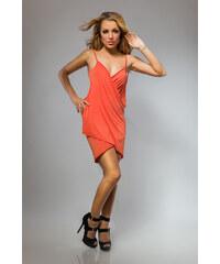 Plážové šaty pareo barva oranžová