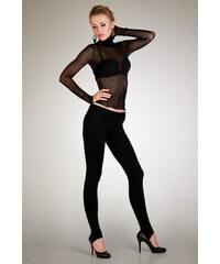 Legíny Lumide Exclusive Wear s vykrojenou patou barva černá M 239c4c113c