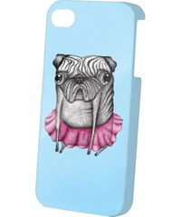 Dedicated Pug Iphone 4 blue