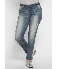 Große Größen: Joe Browns Schmale Stretch-Jeans Joe Browns, blue used, Gr.40-58