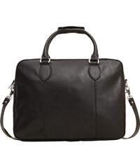 MANGO MAN Genarbte Aktentasche Mit Außentasche