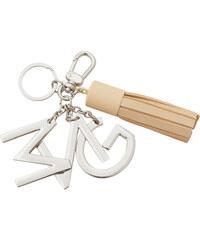 MANGO Schlüsselanhänger Mit Metallplättchen