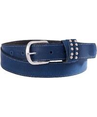 Große Größen: sheego Ledergürtel, blau, Gr.105-135