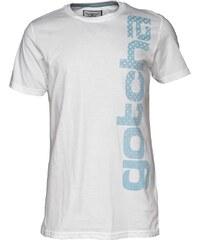 Gotcha Herren Vertical ed T-Shirt Weiß
