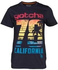 Gotcha Herren Sun T-Shirt Blau