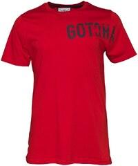Gotcha Herren Logo T-Shirt Rot