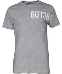 Gotcha Herren Logo T-Shirt Grau