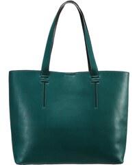 Even&Odd Shopping Bag green/black