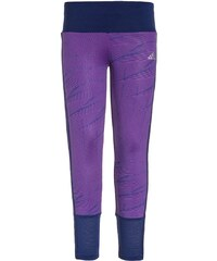 adidas Performance Tights shock purple/unity ink/metallic silver