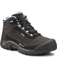 Trekkingová obuv SALOMON - Shelterb Cs 376873 20 V0 Black/Black/Stone Blue