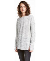 H&M Melírovaný svetr