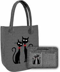 Sada Kabelka City Dvě Kočky + Organizér