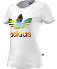 Tričko Adidas Graphic Trefoil white S