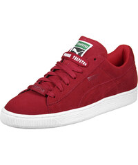 Puma x Trapstar Suede chaussures barbados cherry/white