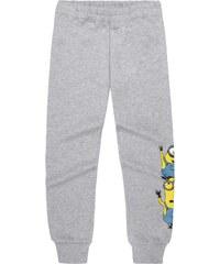 Minions Jogginghose grau in Größe 116 für Mädchen aus 80% Baumwolle 20% Polyester