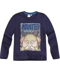 LamaLoLi Langarmshirt marine blau in Größe 104 für Jungen aus 100% Baumwolle