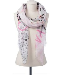 Damen Schal mit Prints CODELLO rosa