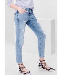 S.OLIVER RED LABEL Damen RED LABEL Shape Ankle: Romantic-Used-Jeans blau L (44),L (46),M (38),M (40),M (42),S (36),XS (34)
