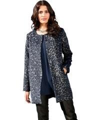 MAINPOL Damen Mainpol Jacke im effektvollen Print blau 38,40,42,44,46,48,50