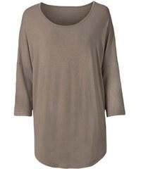 CLASSIC BASICS Damen Classic Basics Longshirt mit 3/4-Ärmel braun 38,40,42,44,46,48,50,52,54,56