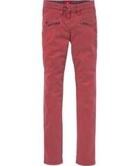 S.OLIVER RED LABEL JUNIOR RED LABEL Junior Hose mit Reißverschlussapplikationen für Mädchen rot 128,134,140,146,152,158,164,170,176