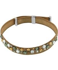 Miss Miss Picadilly - Bracelet avec cristaux de Swarovski® et finition en argent - beige