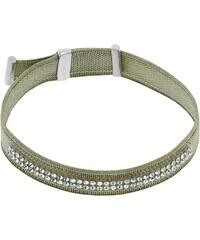 Miss Miss Bracelet avec finition en argent et cristaux de Swarovski® - vert