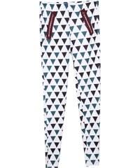 Lesara Leggings mit Dreieck-Print - Grün - S