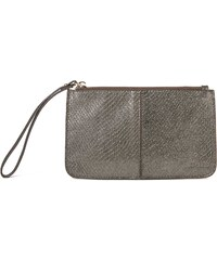 Kate Lee Gloss - Pochette en cuir - argent