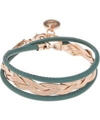 Coralie de Seynes Bracelet multi-rangs - vert
