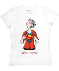 Rigolobo Super Mamie - T-shirt - blanc